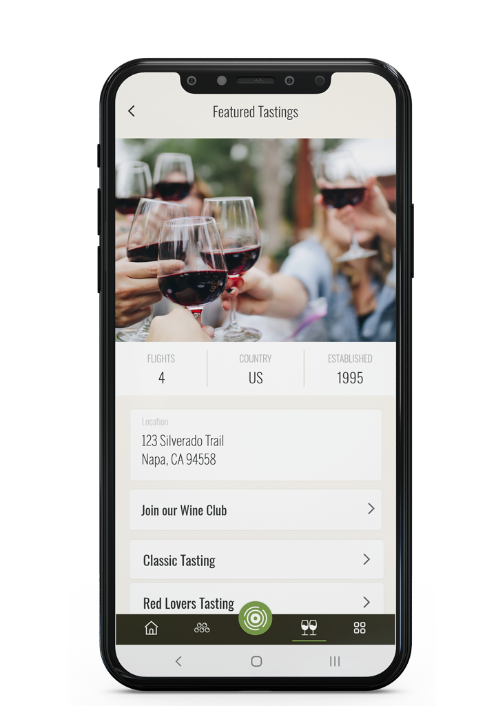 Stay connected with your favorite wineries